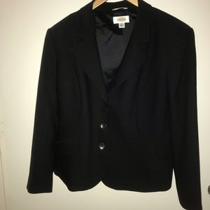 Talbots Black Blazer Plus Size